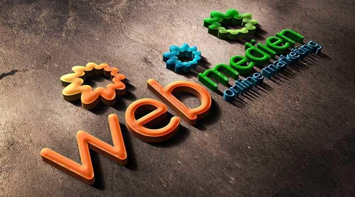 Webmedien Logo Kontakt